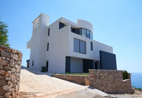 Modern House on the Seaside